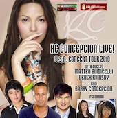 KC Concepcion Live! USA Concert Tour