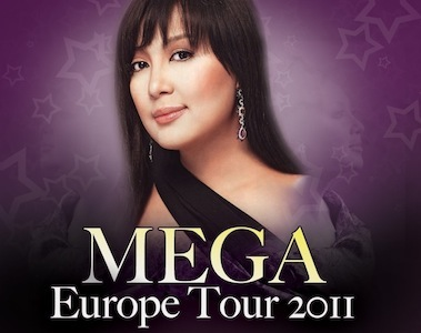 Sharon Cuneta Mega Europe Tour