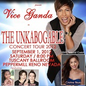 Vice Ganda The Unkabogable Concert Tour 2012 Reno